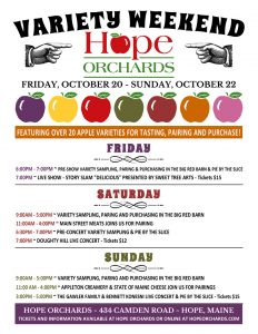 2017 Hope Orchards Variety Weekend