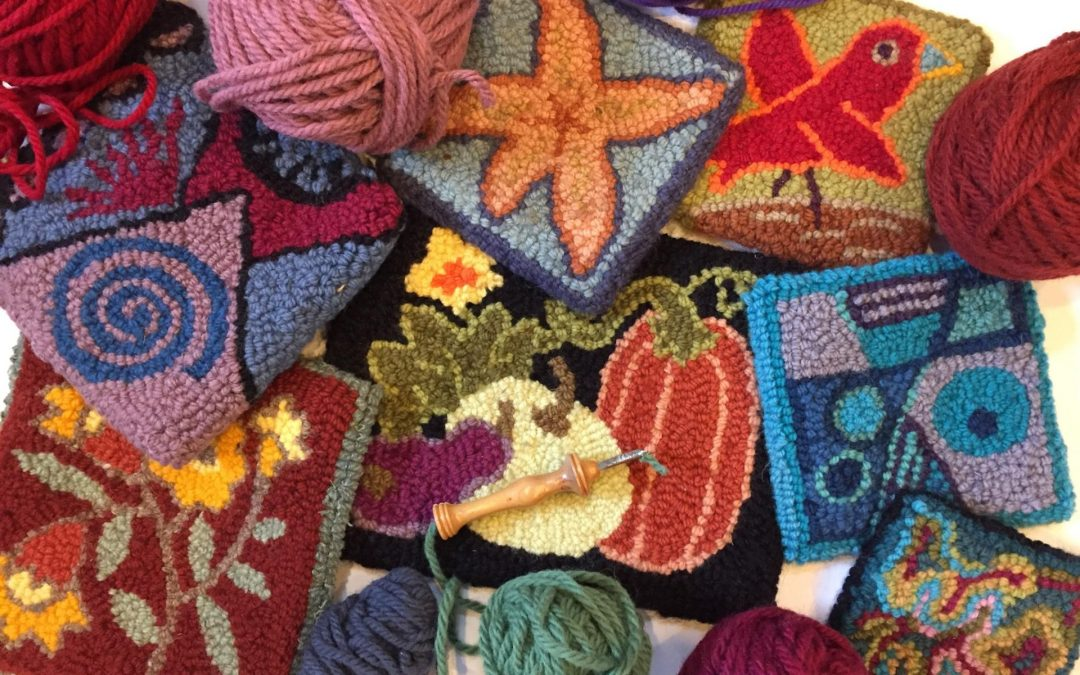 Rug Hooking Class at Hope Orchard